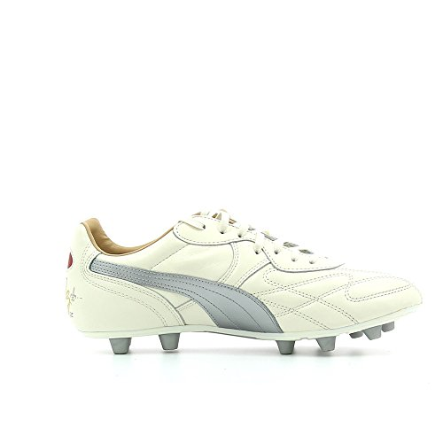 Lyon City di King Beige Blanc Foot FG Crampons Argent Top de tTwtO