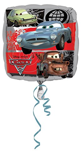 Burton & Burton Mayflower Distributing - Disney Cars Group Singatune Foil Balloon