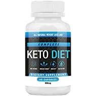 Keto Pills - Weight Loss Supplements to Burn Fat Fast - Shark Tank - Carb Blocker and Energy Booster for Women & Men - Best Complete Keto Diet - 60 Capsules