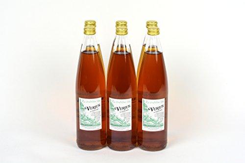 Verjus du Perigord (Green Grape Fruit Wine Vinegar) 25.3Fl.Oz Case of 6 Units - Wholesale by Domaine du Siorac