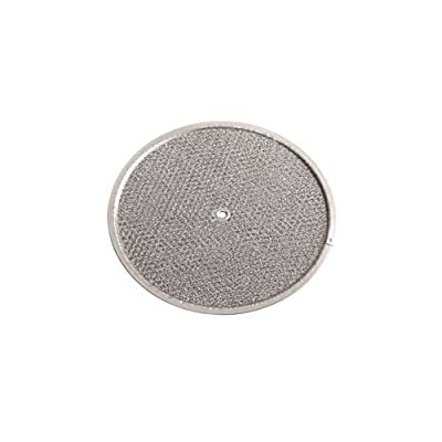 NuTone 834 Aluminum Mesh Filter for 8 Inch Diameter Fans and VG-54 Damper,