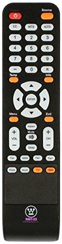 e RMT-23 V2 LCD LED TV Remote Control for Models EW40F1G1, CW50T9XW, DWM40F1G1, DWM40F2G1, EU40F1G1 ()
