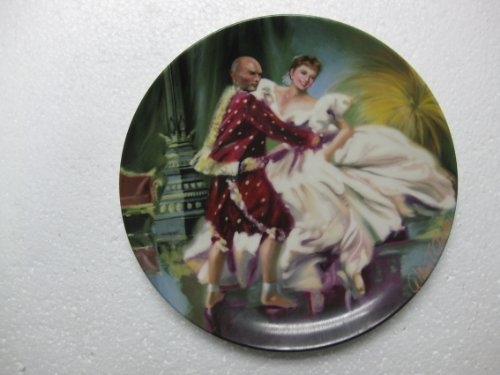 """Edwin M. Knowles-"""" Shall We Dance"""" by William Chambers, Second Plate In """"The King And I"""" Series. 8.5"""" Diameter"""