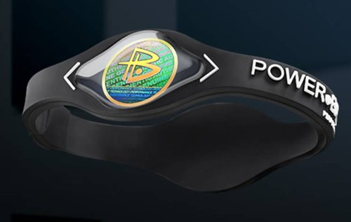 Power Balance Wristband letter Medium