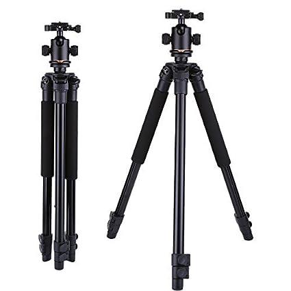 AXIN jq3 peso ligero trípode de aluminio profesional para cámara ...