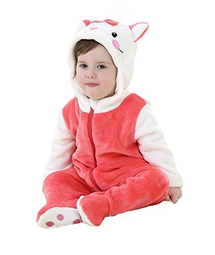 80's Cartoons Costumes (Tonwhar Unisex-baby Cute Animal Costume Cartoon Romper (80(Height:26