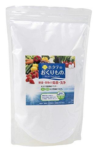 야채 과일 세정제 가리비 선물 1kg 잔류 농약 방부제 제거 제균 실속형 호타테파우더 약330분