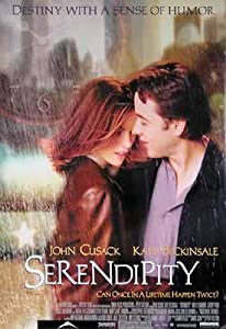 Amazon.com: Serendipity - Movie Poster (Size: 27'' x 40 ...