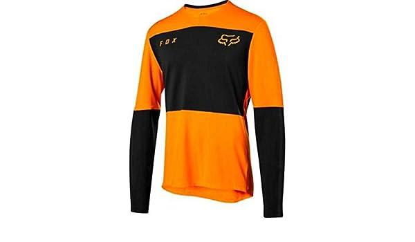 Fox Racing 2019 Defend Long Sleeve L//S Fox Jersey Atomic Orange