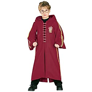 Harry Potter Deluxe Quidditch Robe - 41DL30W5saL - Harry Potter Deluxe Quidditch Robe