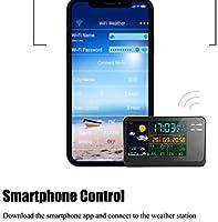 VANLAMP WiFi Estación Meteorológica con Sensor Inalámbrico para ...