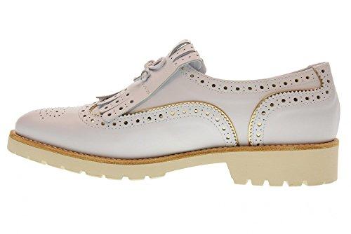 Platino Donna 707 Nero Inglesine Bianco Scarpe Giardini P805030D CT0nwzxn4q
