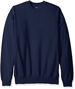 Hanes Men's Ecosmart Fleece Sweatshirt,Navy,4 XL