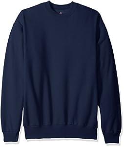 Hanes Men's Ecosmart Fleece Sweatshirt,Navy,4 XL