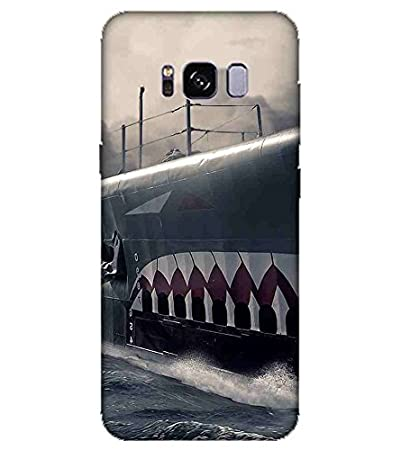 For Samsung Galaxy S8 Edge Vintage Big Ship Printed Amazon In Electronics