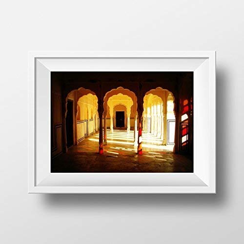 Indian Palace fine art photography print, Size - 8 x 10 Inches, Unframed home decor