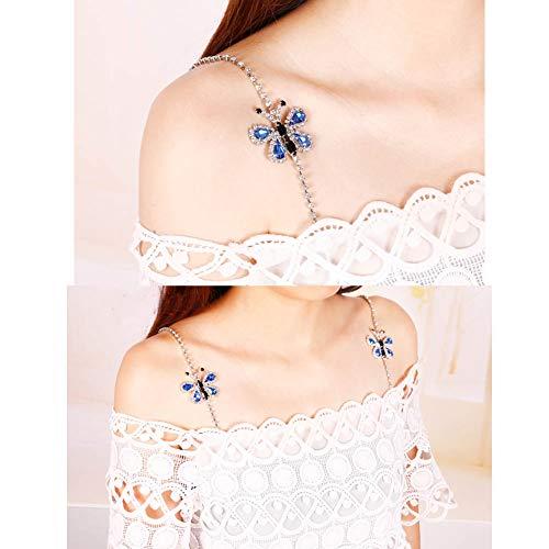 strass con per farfalla a Cinghie Wukong reggiseno Paradise A01 all farfalla a match qZYF0Un