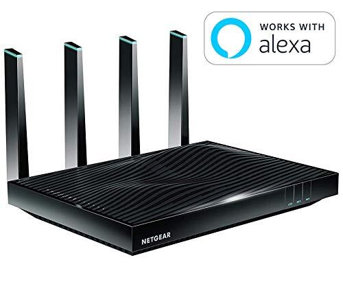 NETGEAR AC5300 Nighthawk X8 Tri-Band WiFi Router...