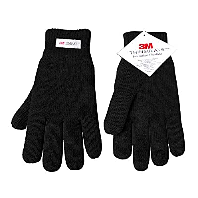 Evridwear 3M Thinsulate Thermal Insulated Lined Gloves, Warm Double Layer Knitted Winter Gloves, Freezer Gloves for Men and Women