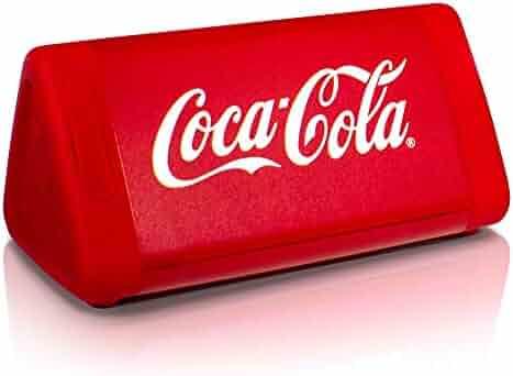 OontZ Angle 3 Coca-Cola Edition - Enhanced Stereo IPX5 Splashproof Bluetooth Speaker with AMP 10 Watts Power, Bass Radiator, 100' Wireless Range Bluetooth 4.2