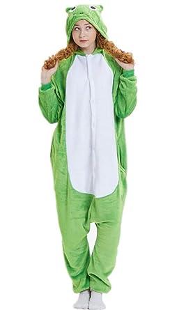 08ac4b14d84 ABYED Women's Adult Pajamas Ladies Unisex Fleece Animal Onesies Kigurumi  Novelty Pyjamas Nightwear Costumes Halloween