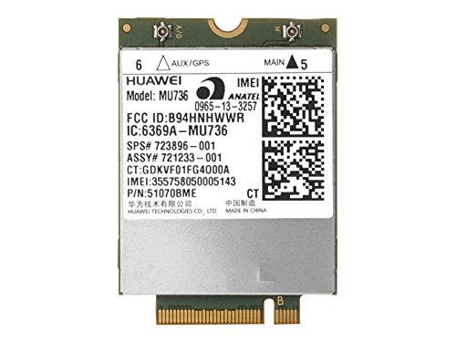 Mini Pci Modem - HP hs3110 Wireless Cellular Modem - Pcie Mini Card Components Other E5M76UT