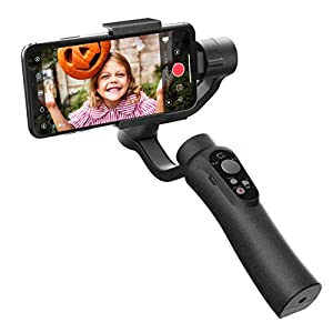 CINEPEER Phone Gimbal, 3-Axis Gimbal Stabilizer for iPhone X/XS, Samsung Android Phone, ZY Play App Support, Smooth Video Gimbal - CINEPEER C11 16