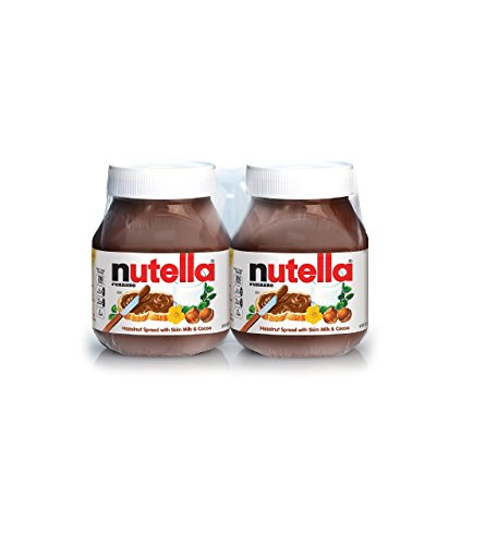 Nutella Hazelnut Spread Twin Pack (26.5 oz. jars, 2 ct.) (pack of 2) by Nutella