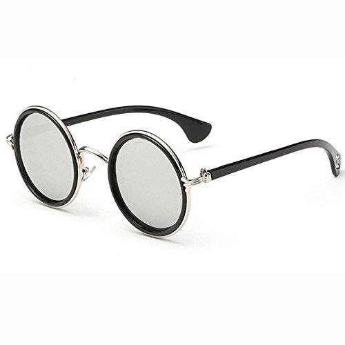 CX Ciclismo De Gafas Sol De De I Cuidado GUOHONG A Casual Lentes Viento De Vintage Reflexivo Los Gafas Gafas Moda Unisex Sol Color Ojos Espejo Redondas De Príncipe I Prueba dHaqaFwx