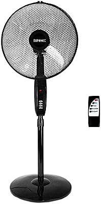 Duronic FN60 Ventilador de Pie con Mando Temporizador, 5 Aspas y 2 ...