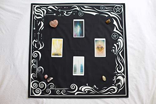 Tarot Cloth and Moon Tapestry Bundle by Hidden Crystal Tarot (Image #3)