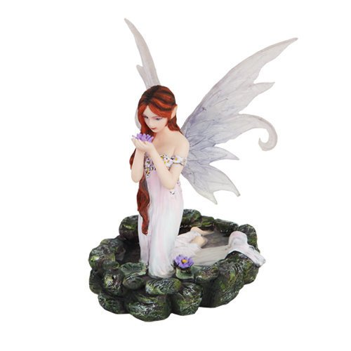 Princess Kneeling Mystical Statue Figurine product image