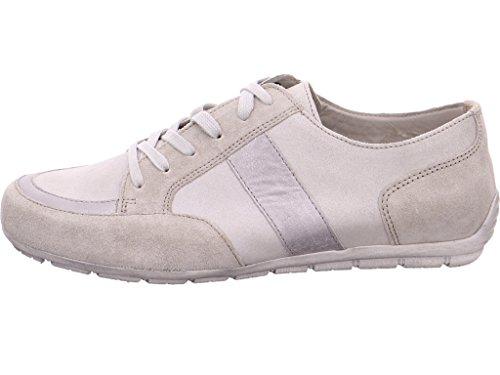 Gabor 24-310-11, Chaussures de ville à lacets pour femme Powder/Leinen/Muta