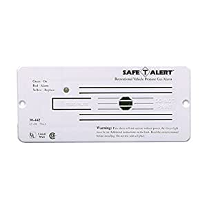 MTI Industries 30-442-P-WT Propane Gas Alarm – White