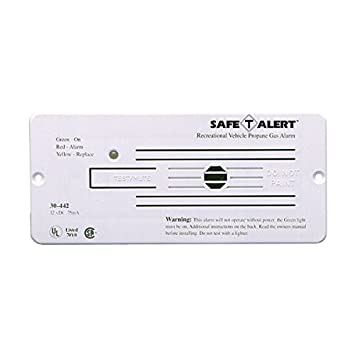 MTI Industries 30-442-P-WT Propane Gas Alarm White
