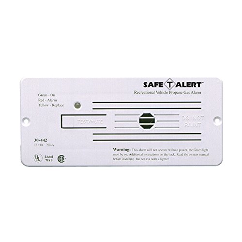 12v Lp Gas Alarm - MTI Industries 30-442-P-WT Propane Gas Alarm - White