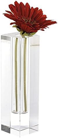Badash Donovan Crystal Glass Bud Vase