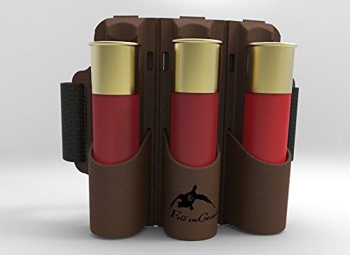 Fold'em Gear FlxSHOT Shotgun Shell Holder with Shell-Loc (TM) Technology