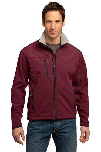 Portuaria Autoridad Shell chaqueta Glacier Caldera Chrome Red Soft hombre de pOdawqrp