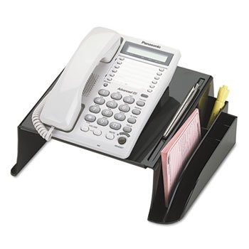 - Officemate 2200 Series Telephone Stand, 12 1/4''w x 10 1/2''d x 5 1/4''h, Black
