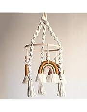 Neutral Baby Crib Mobile Nursery Cot Mobile Handmade Felt Ball Mobile Ceiling Mobile Newborn Shower Gift