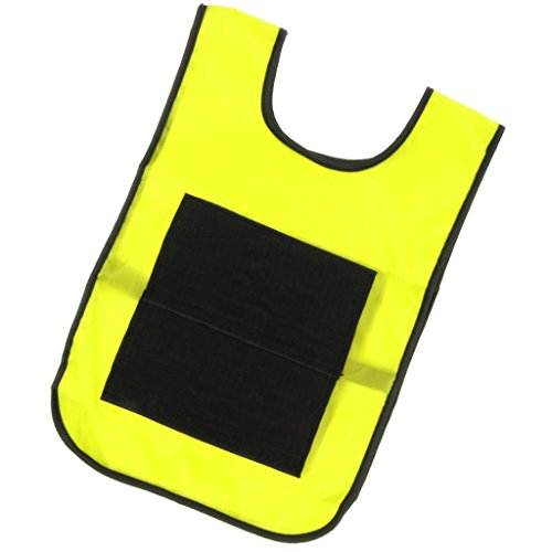 Homyl Sticky Ball Catch Vest, Team Practice Pinnies, Kids Babies Outdoor Game Cloth - Yellow