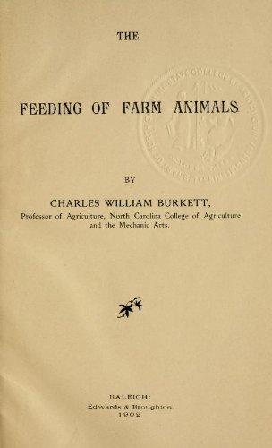 The Feeding Of Farm Animals
