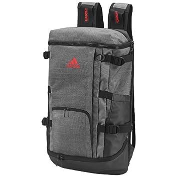 30885943c0 adidas Men s Novety Backpack - Dark Grey Heather Scarlet