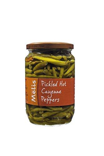 Bolive Market Pickled Hot Cayenne Peppers 24 Oz (680 (Pickled Turkey Pickles)