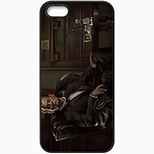 Personalized Diy For SamSung Galaxy S6 Case Cover ell phone Case/Cover Skin Art Bill Murray Actor Man Chair Whiskey Black