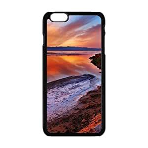 Glam Sunset View Black Phone Case for Iphone6 plus