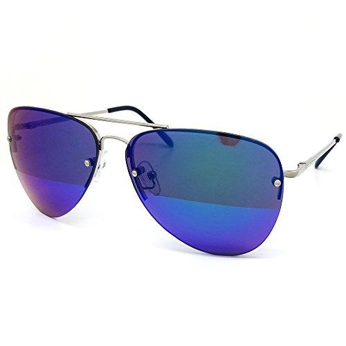 O2 Eyewear Premium Teardrop Sunglasses