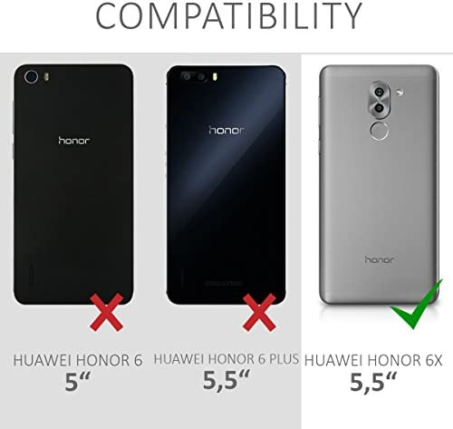 kwmobile Funda compatible con Huawei Honor 6X / GR5 2017 / Mate 9 ...