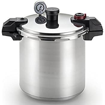 pressure cooker for canning presto 01781 23 quart pressure canner and 29452